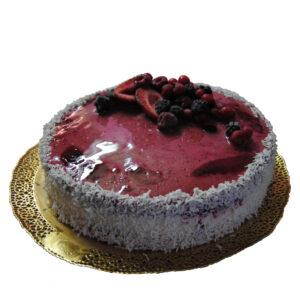 Torta Gelato Fiordilatte e Frutti di bosco