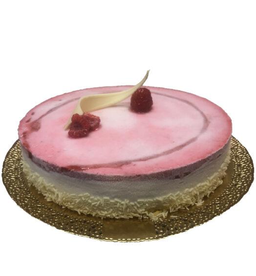 Torta Gelato Fiordilatte e Lampone