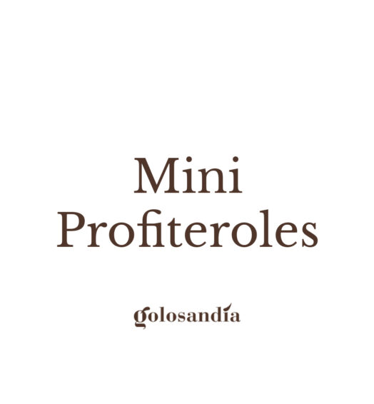Mini Profiteroles