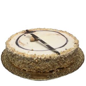 Torta Gelato Fiordilatte, Nutella e Nocciola